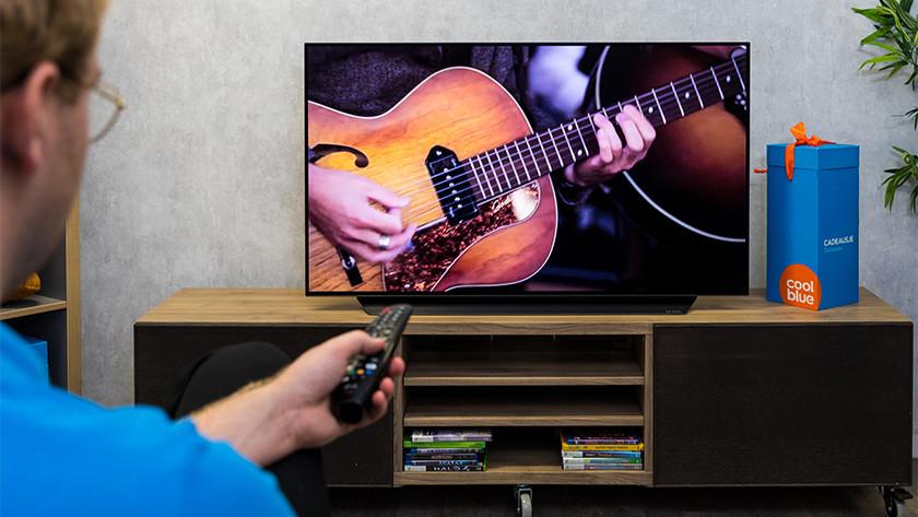 Geluid van de LG CX OLED tv