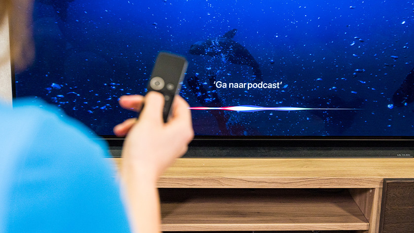 Aan de slag met Siri op Apple TV