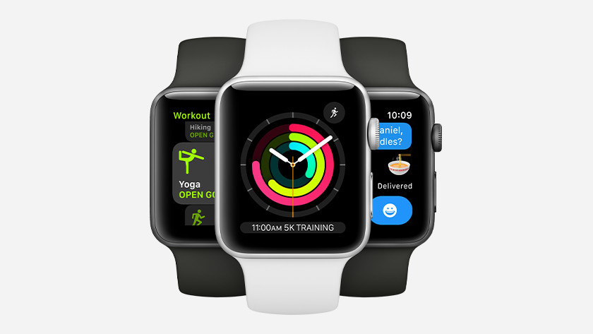 Apple Watch Series 3 optische hartslagsensor