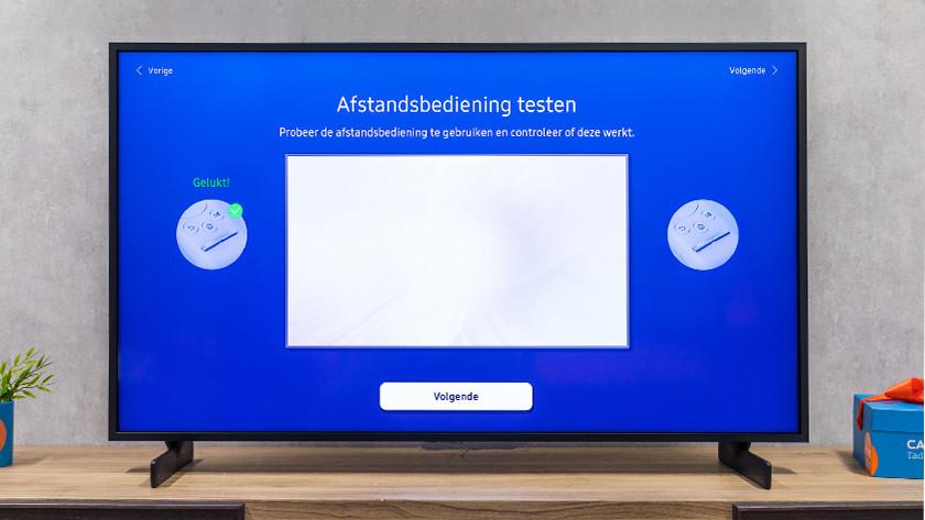 Samsung afstandsbediening testen