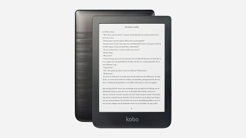 Kobo Clara HD design waterproof