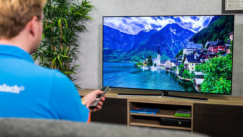 Kleuren met HDR beelden van de Hisense H55O8B OLED tv