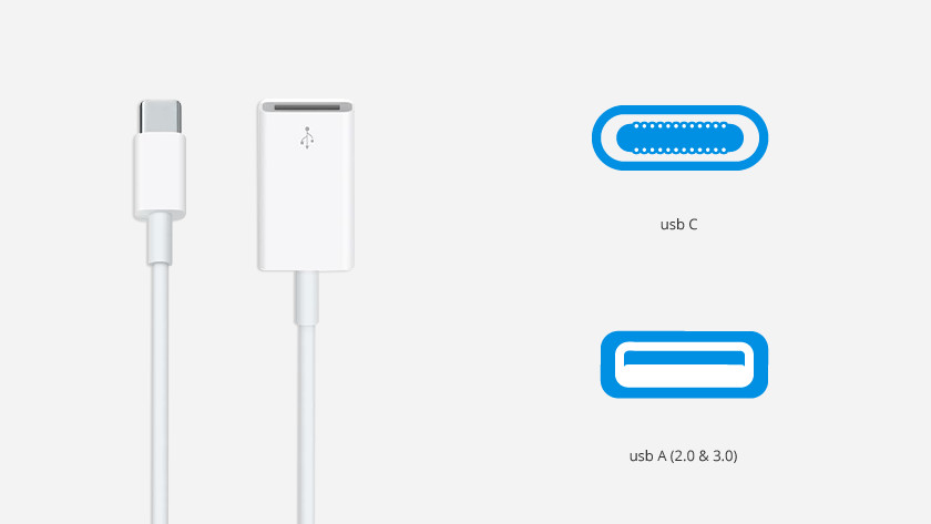 Apple USB-C to USB-A converters