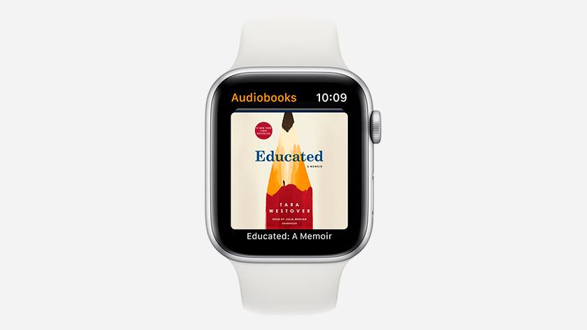 Apple Watch audio books