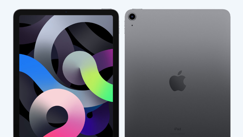 iPad Air 2020 voorkant achterkant