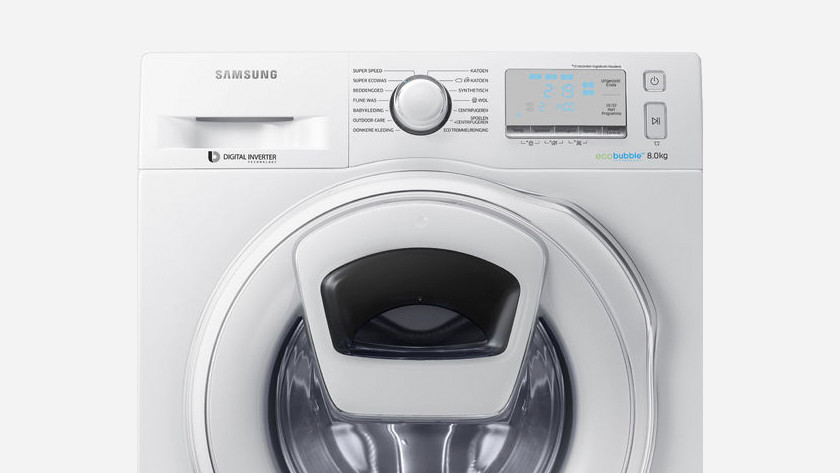 Samsung wasmachine lcd display