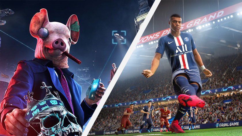 Games in najaar 2020.