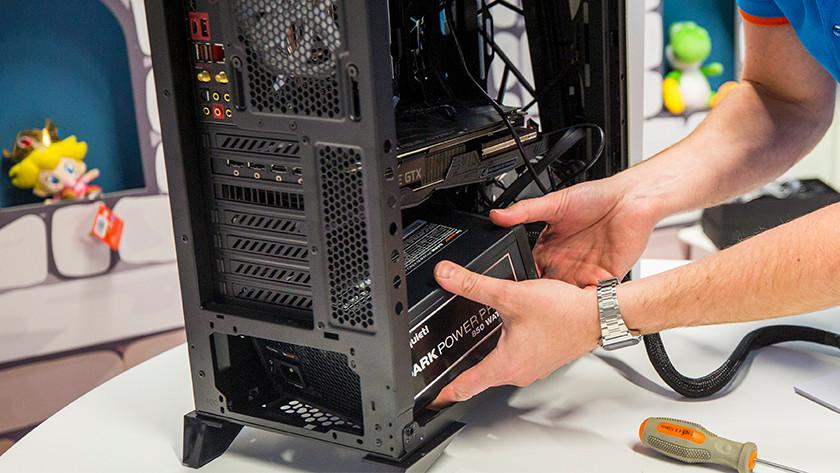 Computervoeding installeren