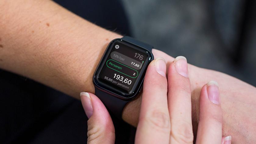 Apple Watch Rekenmachine