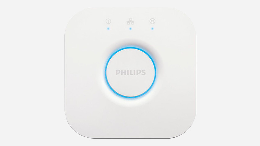 Philips Hue Bridge aansluiten
