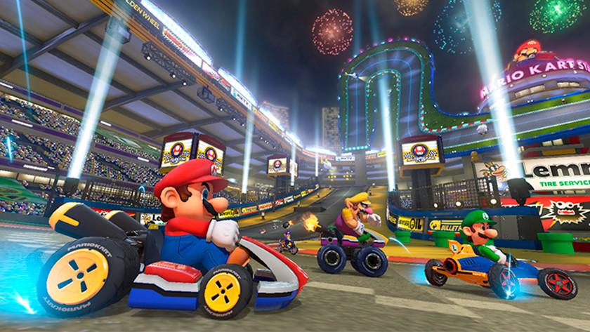 Racen in Mario Kart 8 Deluxe