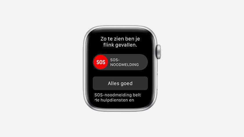Valdetectie op Apple Watch