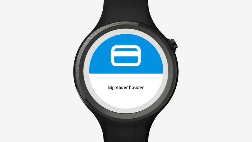 Contactloos betalen smartwatch