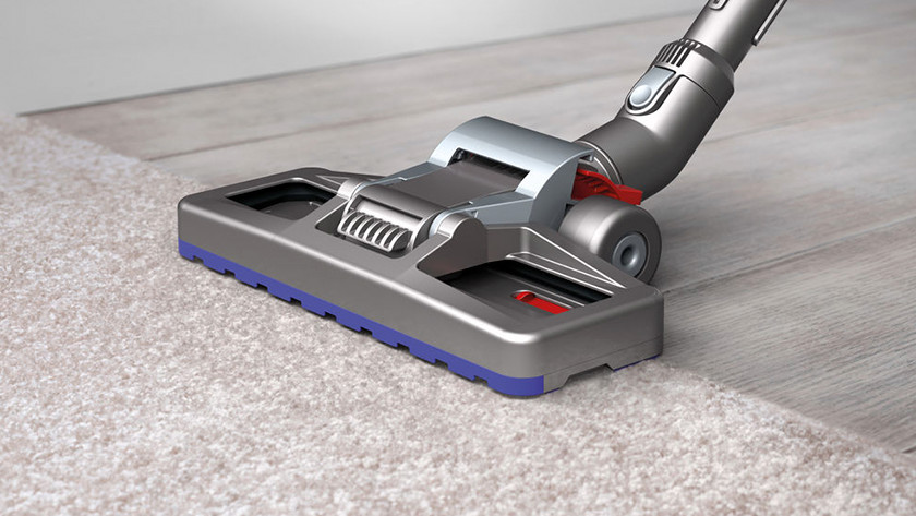 Constant suction power of bagless vacuums