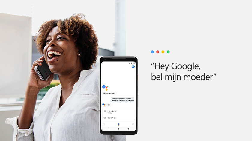 Calling and messaging with Google Assistant