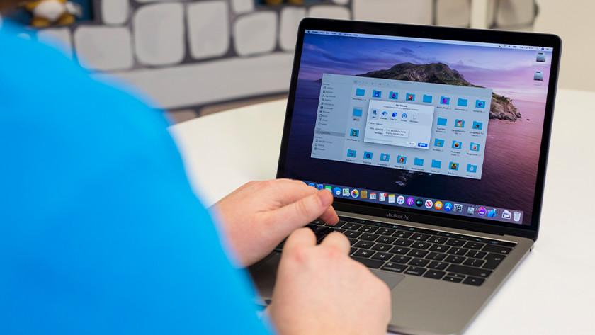 Apple MacBook Pro 13 inch opslag