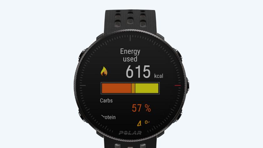Smartwatch Polar Vantage energie assistent