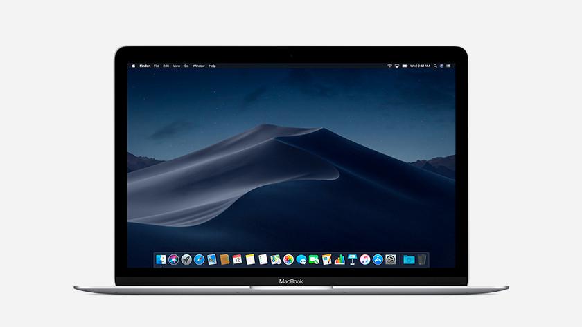 Helder scherm van de Apple MacBook 12 inch