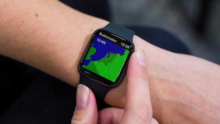 Apple Watch Buienradar