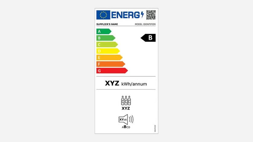 Energy label wine fridges