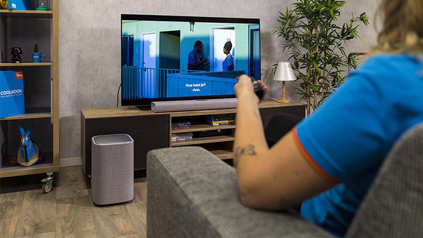 Soundbar aansluiten op je televisie