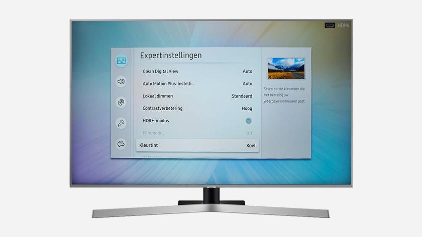Samsung expert settings