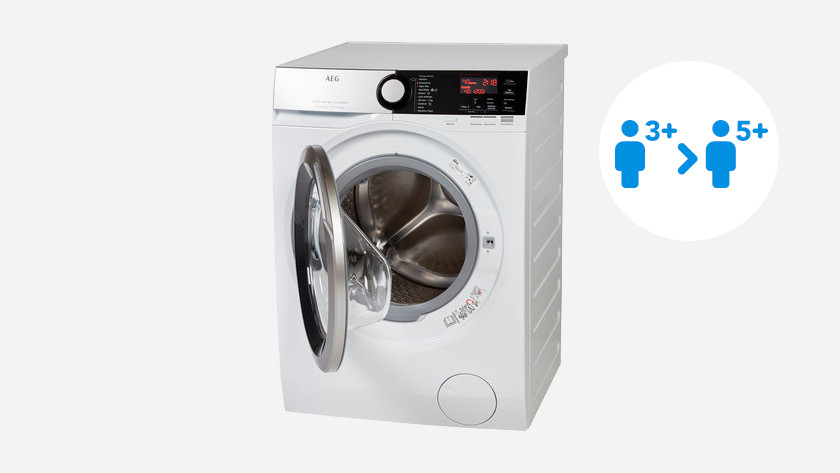 Filling weight AEG washing machine 7000 series