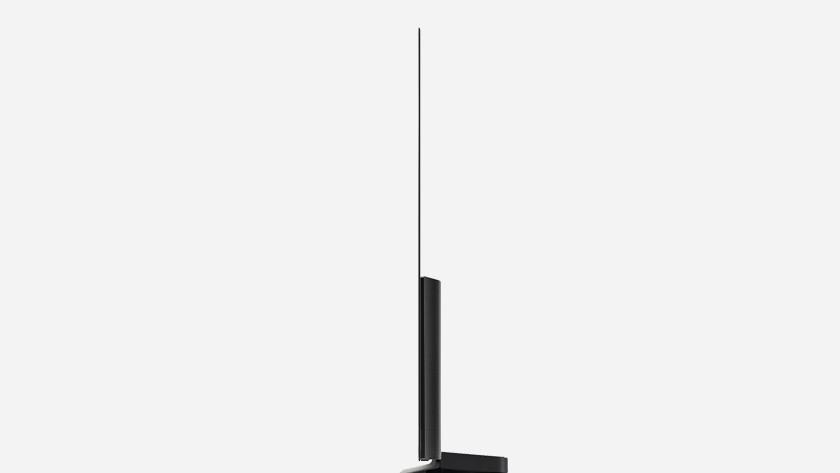 CX: dun scherm met brede voet