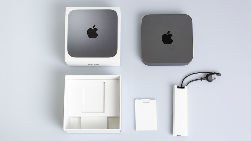 Apple Mac Mini doos space gray