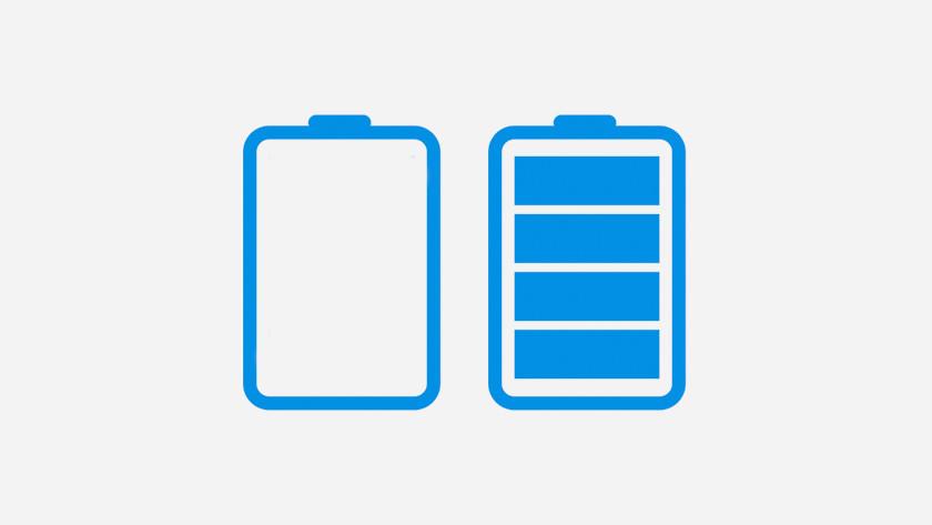 Battery memory effect
