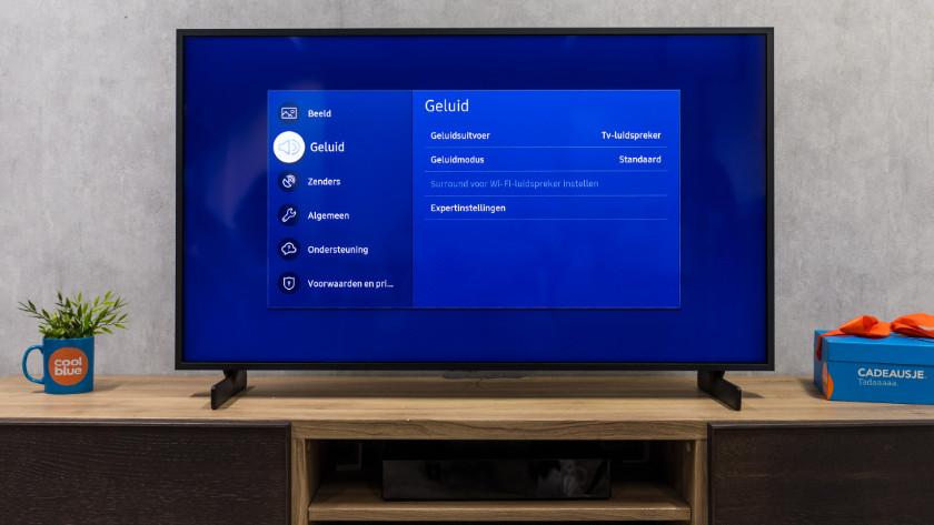 Geluidsinstellingen van je televisie