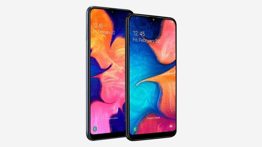 Samsung Galaxy A10 and A20e
