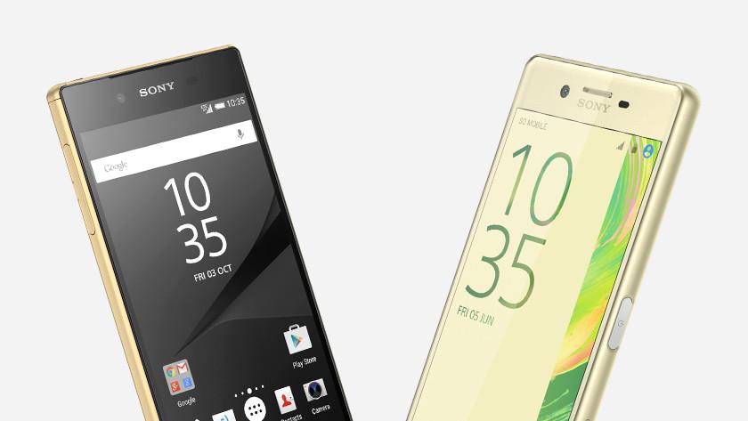 From Sony Xperia X to Z