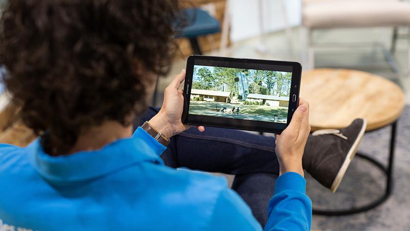 Tablet serie kijken in Full HD