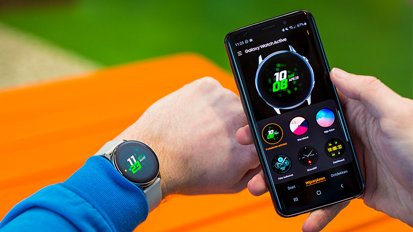 Samsung Galaxy Watch Active smartphone meldingen notificaties