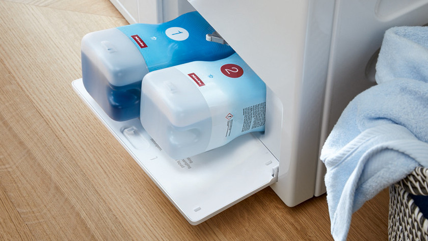 Miele TwinDos automatic detergent dosing
