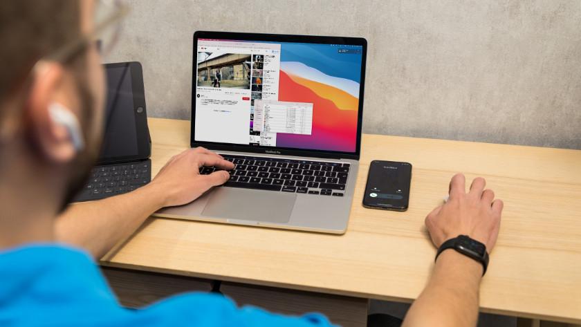 Telefoneren met Apple MacBook en iPhone