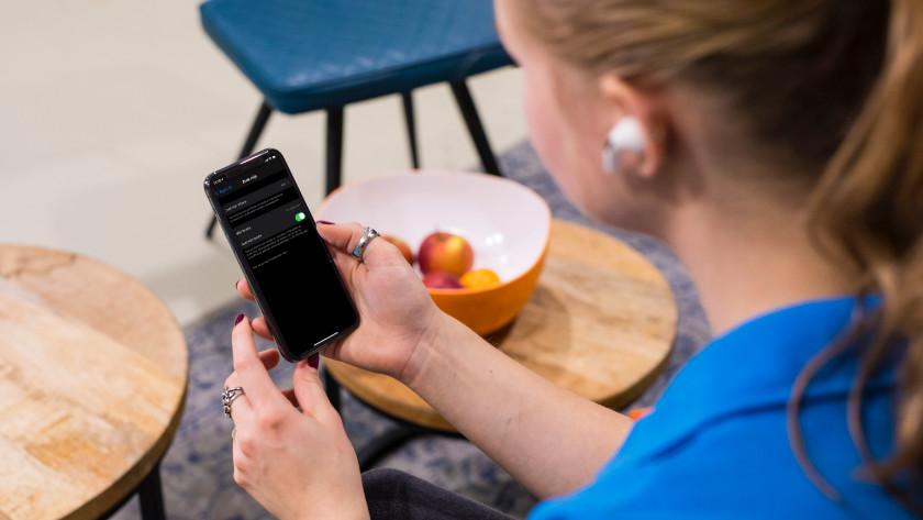iPhone en AirPods Pro