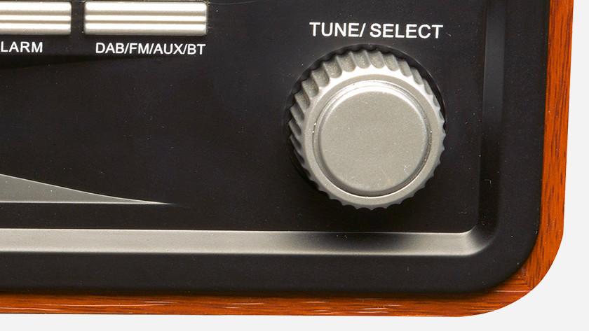 Tune knop radio