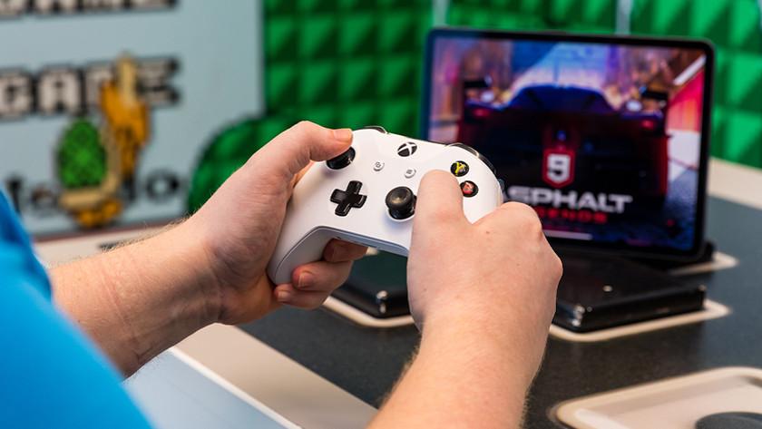 Xbox One controller op iPad