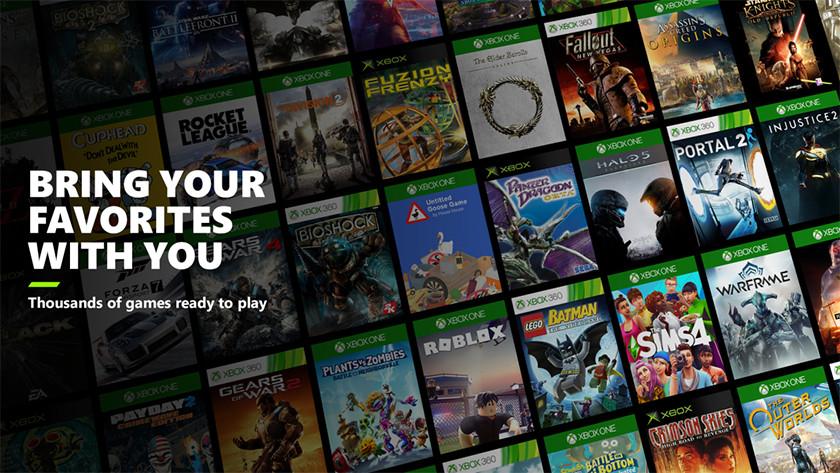 Speel Xbox One of Xbox 360 games ook op de Xbox Series X.