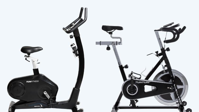 Hometrainer of fitness fiets