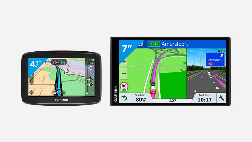Formaat autonavigatiesysteem