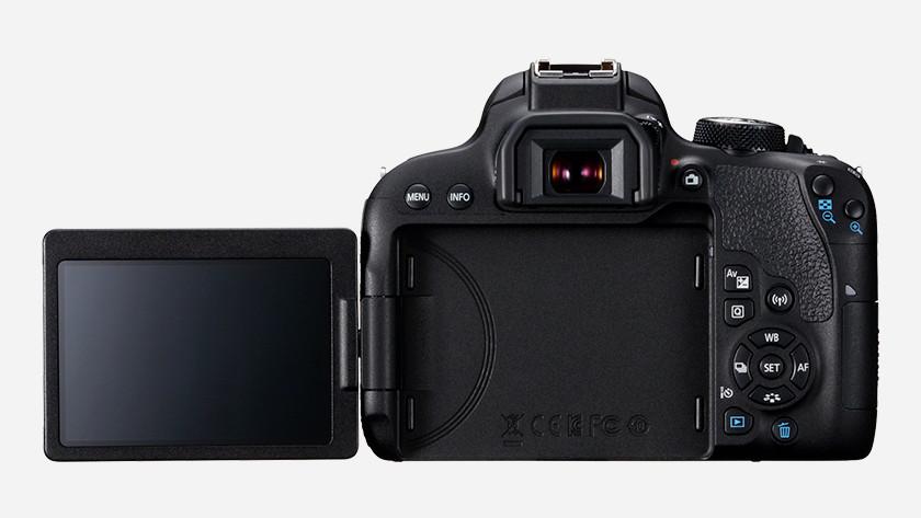 Bediening Canon EOS 800D