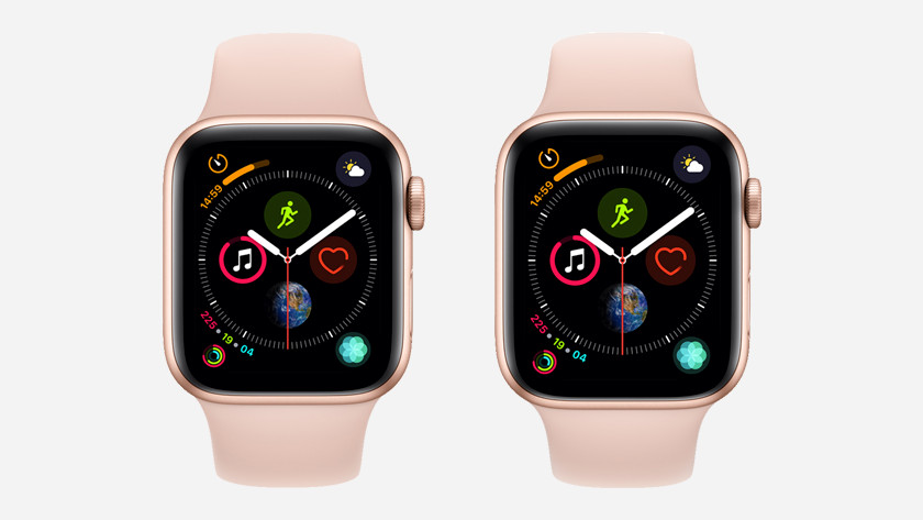 Apple Watch Series 4 40 en 44 mm