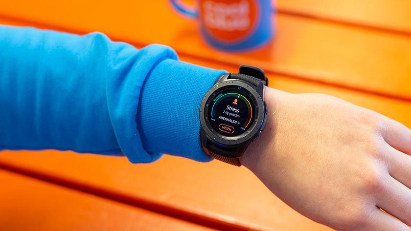 Samsung Galaxy Watch stappenteller training fitness