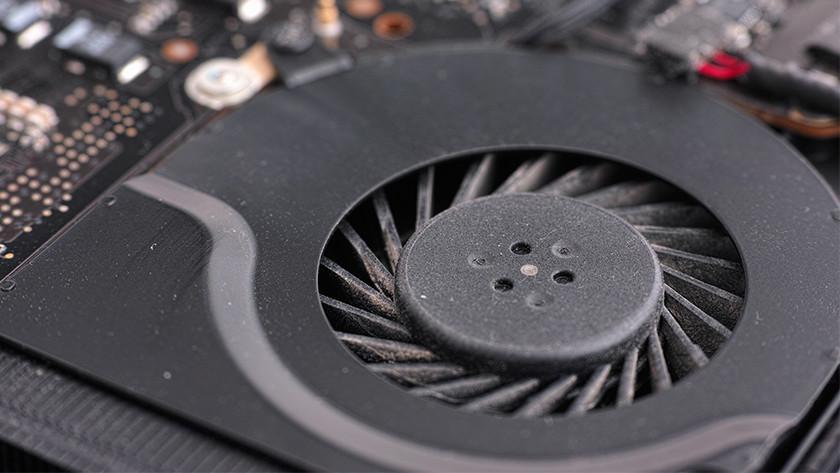 Fan in a laptop