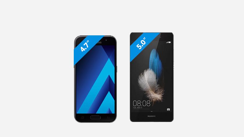 gemiddelde smartphone