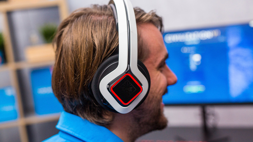 HP Omen gaming headset.
