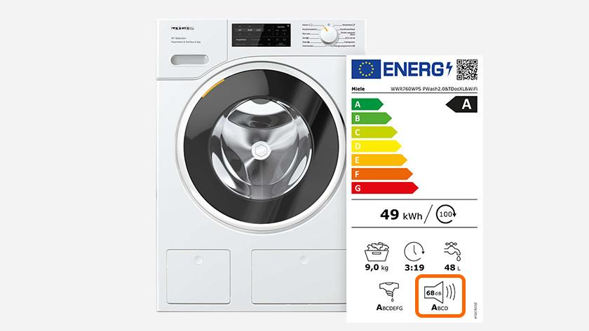 Stille wasmachine